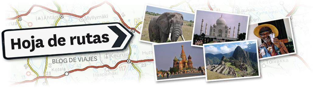 Hoja de Rutas - Blog de viajes