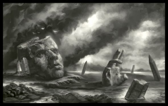 Matthew Starbuck faxtar deviantart illustrations dark fantasy