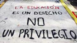 La educación es un derecho.