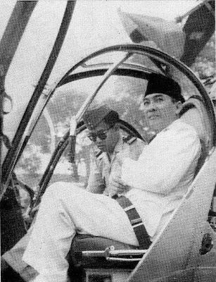 Soekarno.., Presiden pertama di Dunia yang punya Helikopter....!!! | http://indonesiatanahairku-indonesia.blogspot.com/