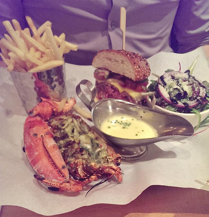 burger and lobster soho london