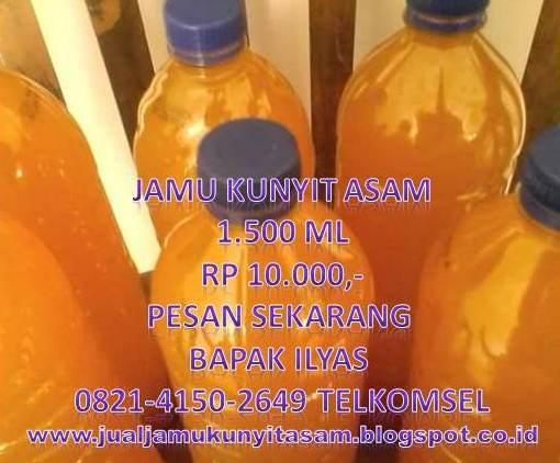JAMU KUNYIT ASAM 0821.4150.2649