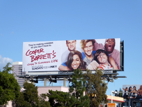Cooper Barretts Guide Surviving Life billboard