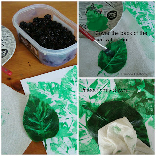 artificial leaves used for printing