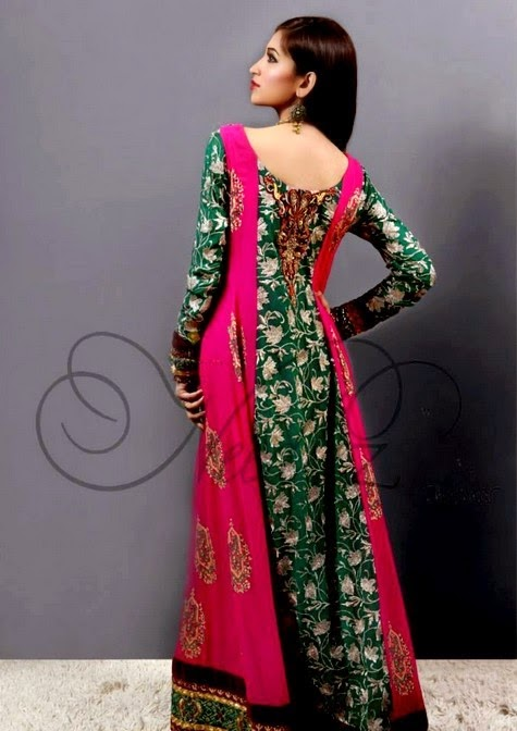 Fancy Party Wear Dresses 2014