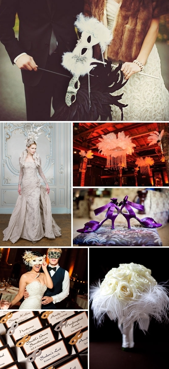 Masquerade Wedding Inspiration