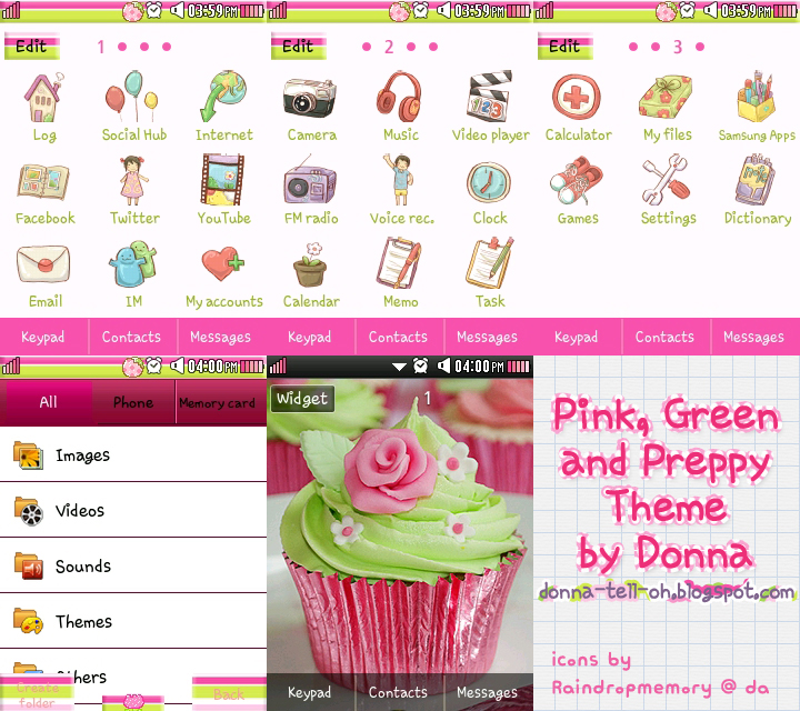 Pink Green and Preppy Theme | little miss fangirl