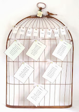 Bird Cage Wedding Table Planner