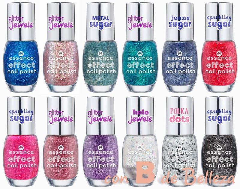Effect nail polish