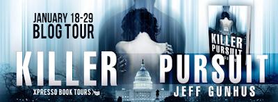 Blog Tour ~ Review: Killer Pursuit by Jeff Gunhus + Giveaway (INT)