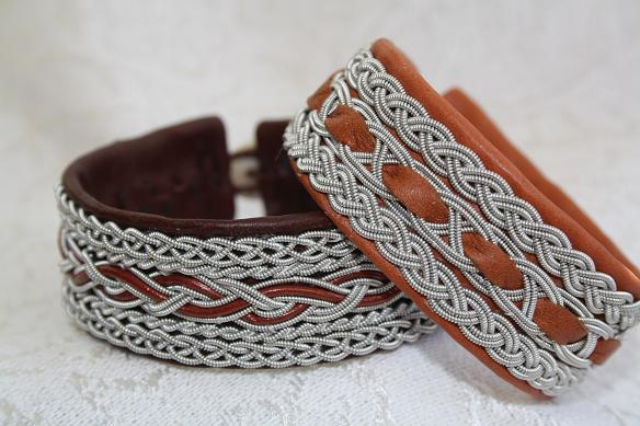 Bracelets In Brown Colours