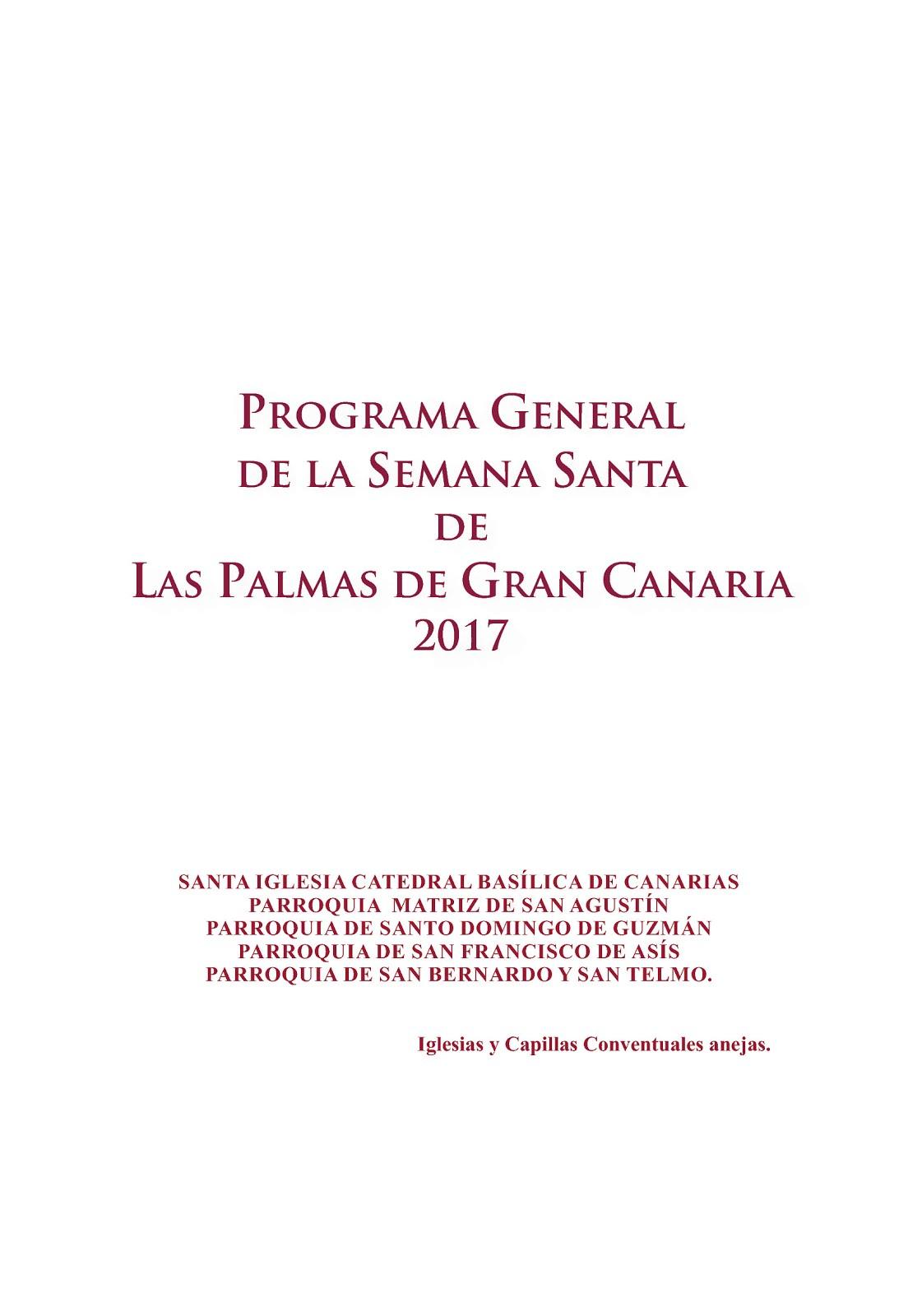 Programa Semana Santa 2017
