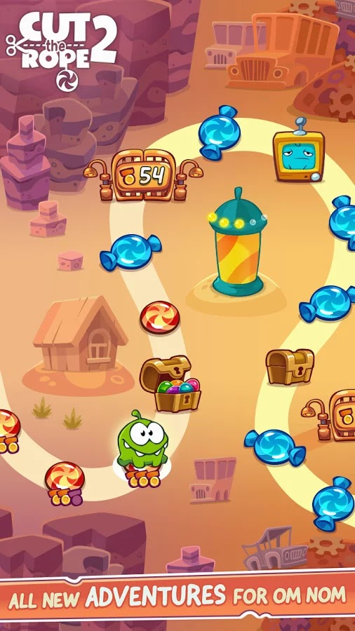 Cut the Rope 2 v1.6.3 Mod