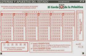 Sorteo de El Gordo del domingo 23/02/2014