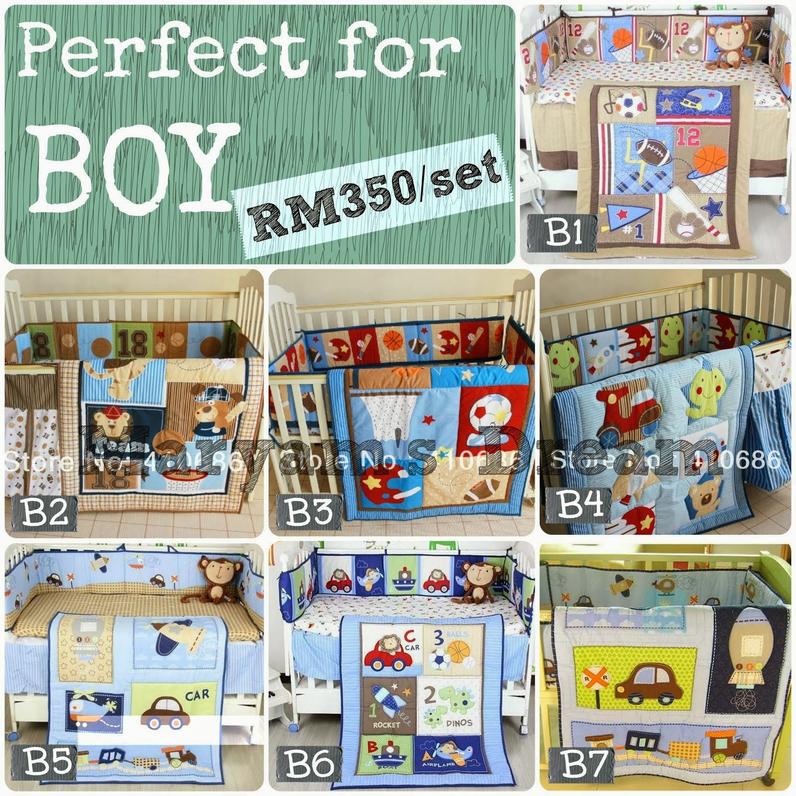 Baby Bedding Set - for Boy