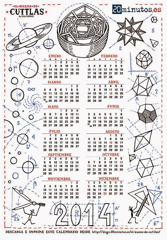 Calendario Cuttlas 2014