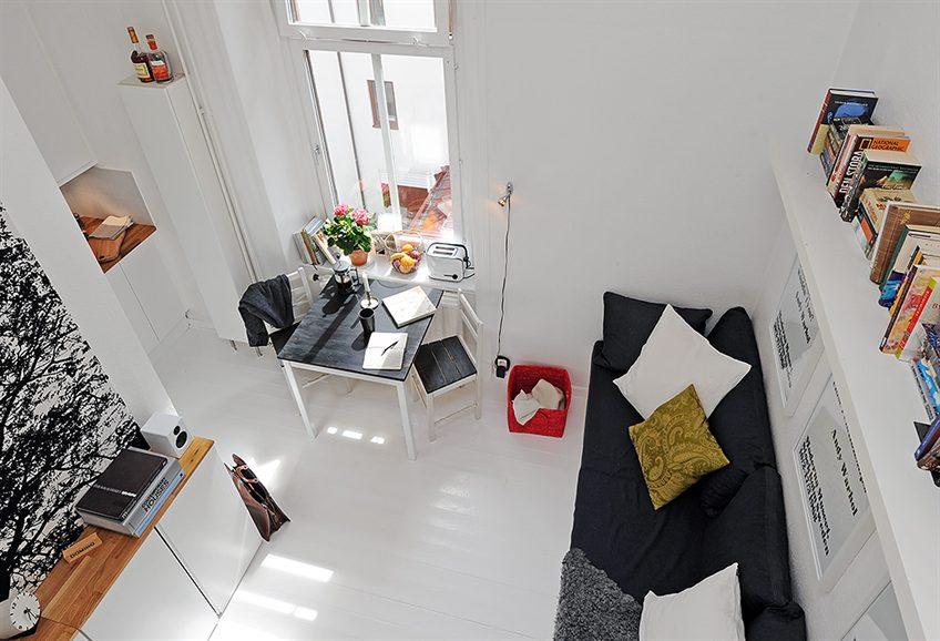 decoracao de kitnet de estudante: quando estava em busca de apartamentos para morar visitei muitos