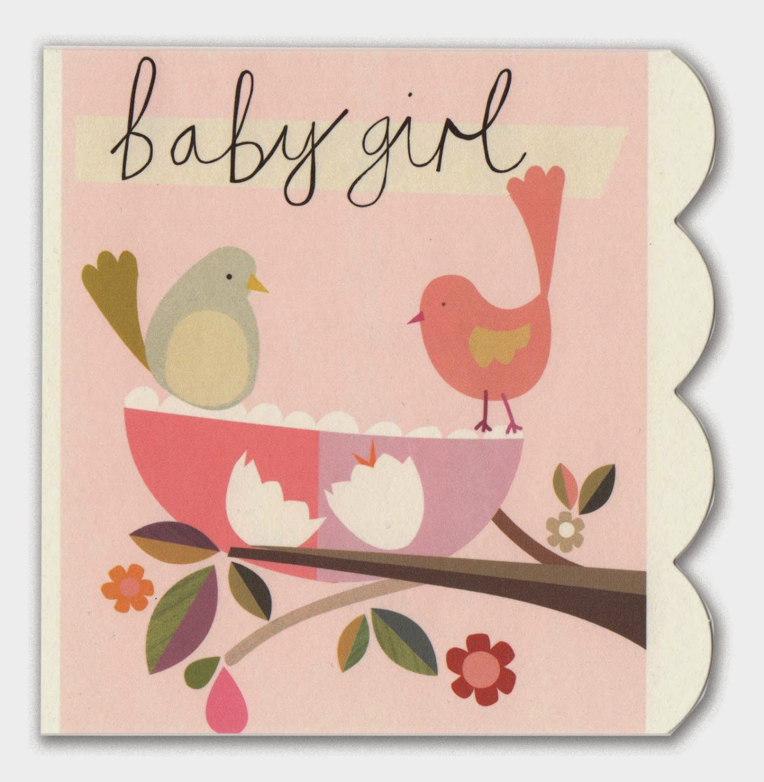 Kay b design illustration the last couple of months have all been about the theme of little girl baby girl heres some sweet greetings cards i have recently been sent and a room m4hsunfo