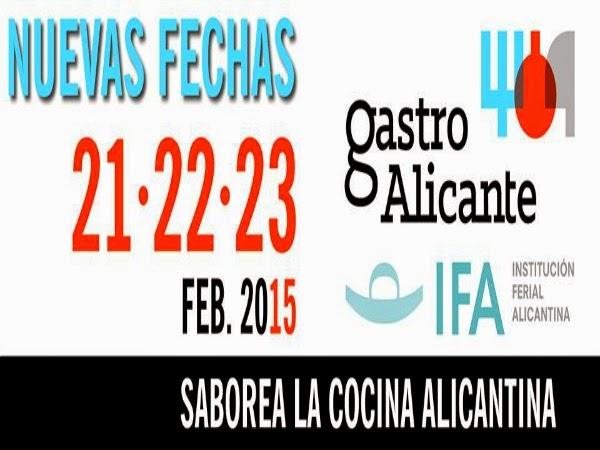 """Segunda edición """"GastroAlicante"""" en 2015"""