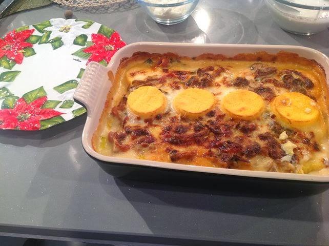 Polenta pasticciata (Luisanna Messeri) | Le Ricette di Esmeralda e ...