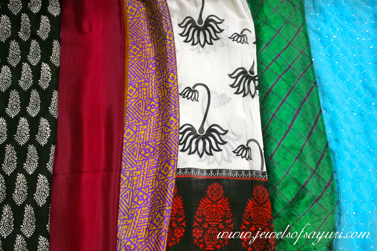 Indian saree types