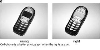 Совет 61. Если вам необходимо сделать снимок мобильного телефона (например - для размещения объявления о его продаже) - сделайте снимок в то время, когда его экран включен.
