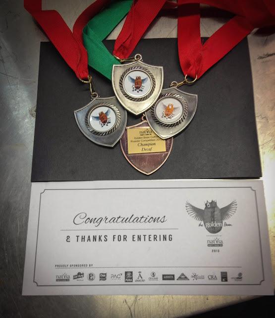 Grata Espresso Medals