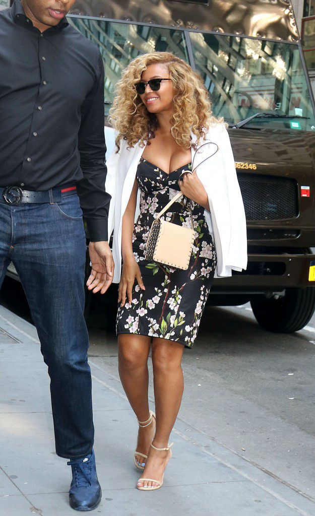 Beyonce Seen on the streets of New York