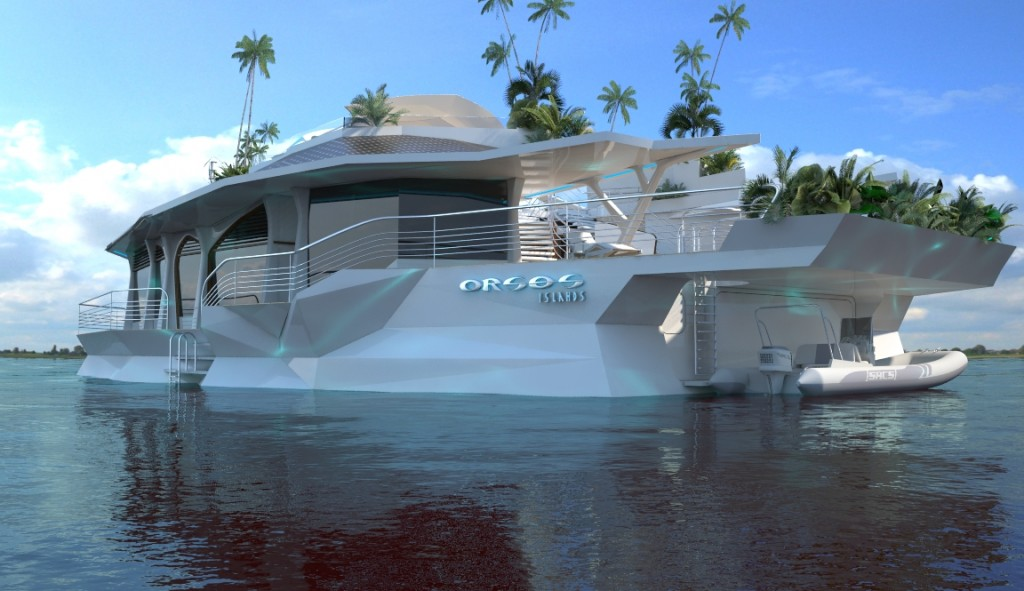 Passion for luxury luxury floating homes by orsos islands for Bateau de luxe interieur