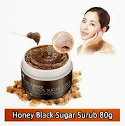 Honey Black Sugar Scrub 80g