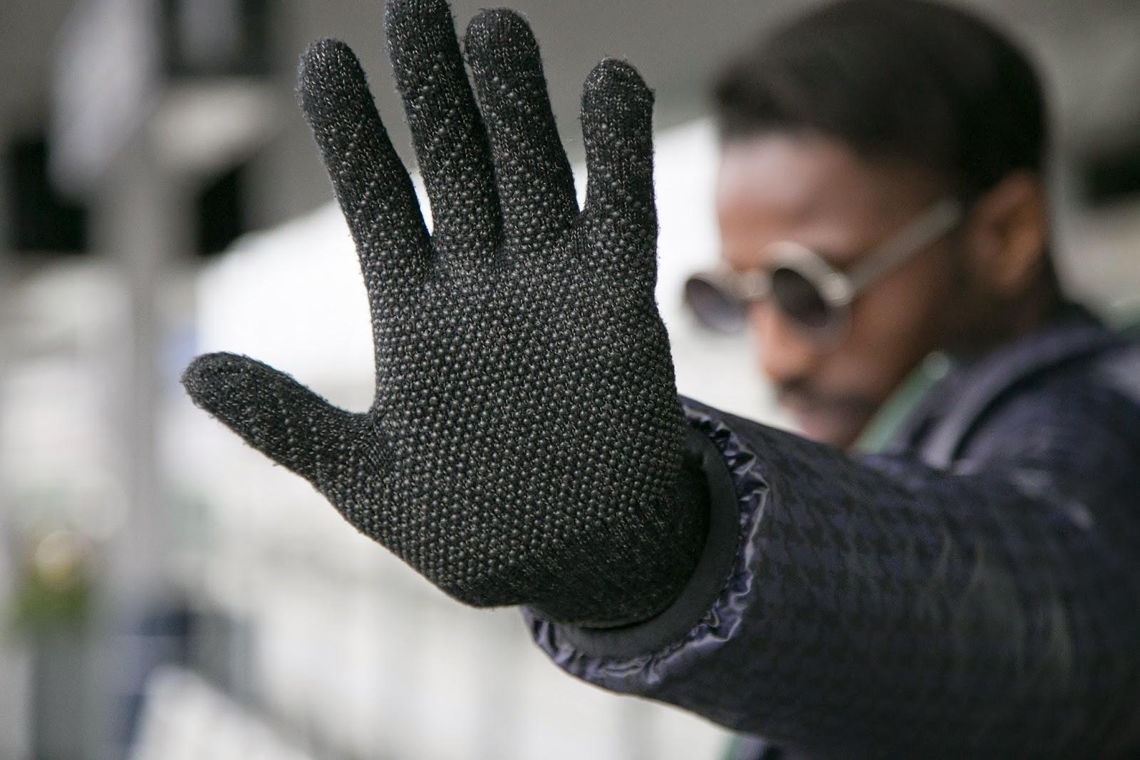 mujjo black Refined Touchscreen Gloves