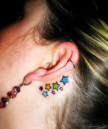 A moda da tatuagens: O que as estrelas significam
