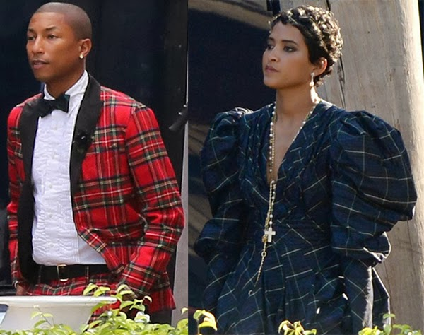 Kemi Online ♥: Pharrell Williams marries Helen Lasichanh ...