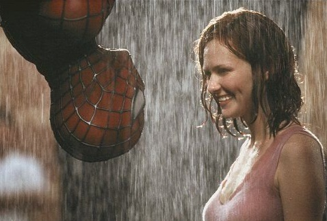Kirsten Dunst in sexiest movie scene Spider-Man