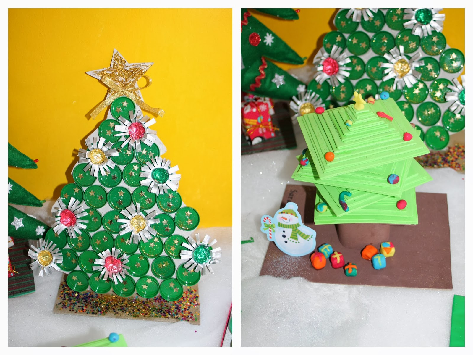 O Mestre Cuco Decoraç u00e3o de Natal no Jardim de Inf u00e2ncia -> Decoração De Natal Jardim