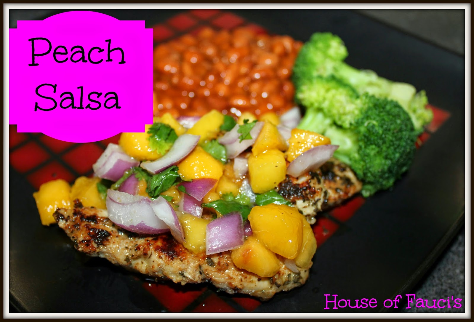 House of Fauci's: Peach Salsa - A 'House of Fauci's' Pin ...