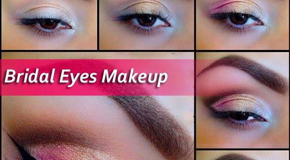South Bridal Eye Makeup Tutorial : Beautiful Bridal Eyes Makeup Tutorial - 2015 New Looks - B ...