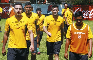 Oriente Petrolero - Ronny Montero - Ronald García - Rodrigo Vargas - DaleOoo.com web del Club Oriente Petrolero