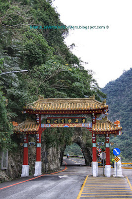 Gateway, Central Cross-Island Highway, Taroko National Park, Taiwan