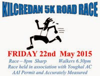 Popular 5k race in E Cork