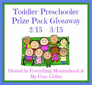 Toddler-Preschooler Fun Prize