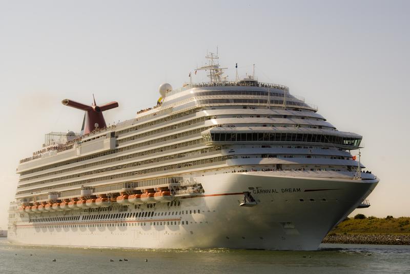The Carnival Dream  Cruise Ship