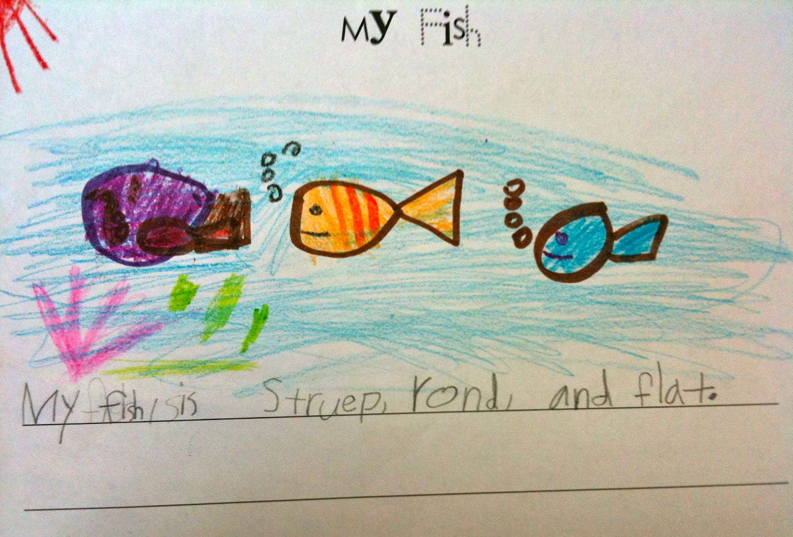 Kindergarten SuperKids: April 2012