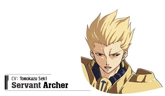 Archer (CV: Tomokazu Seki)