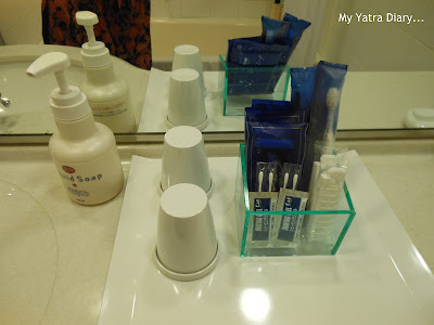 Hotel Villa Fontaine Roppongi, Japan - stocked up toiletries