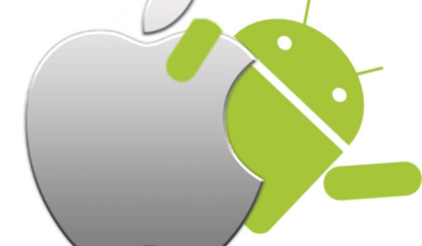 El uso de Android sobrepasa a iOS