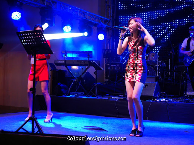 Kelly Siew & friends feat. Melissa Seow @ Jaya One 2014 New Year Countdown