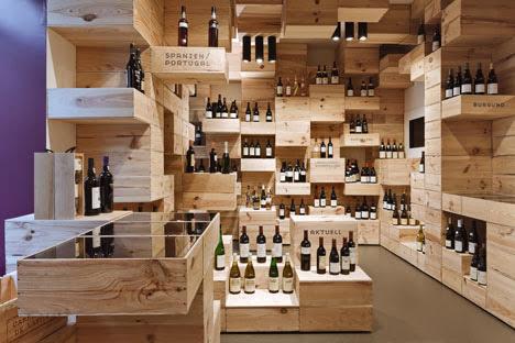 Ilia estudio interiorismo vinoteca con un dise o interior - Diseno de vinotecas ...