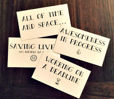 select messages - diy office magnets - Cordier Events