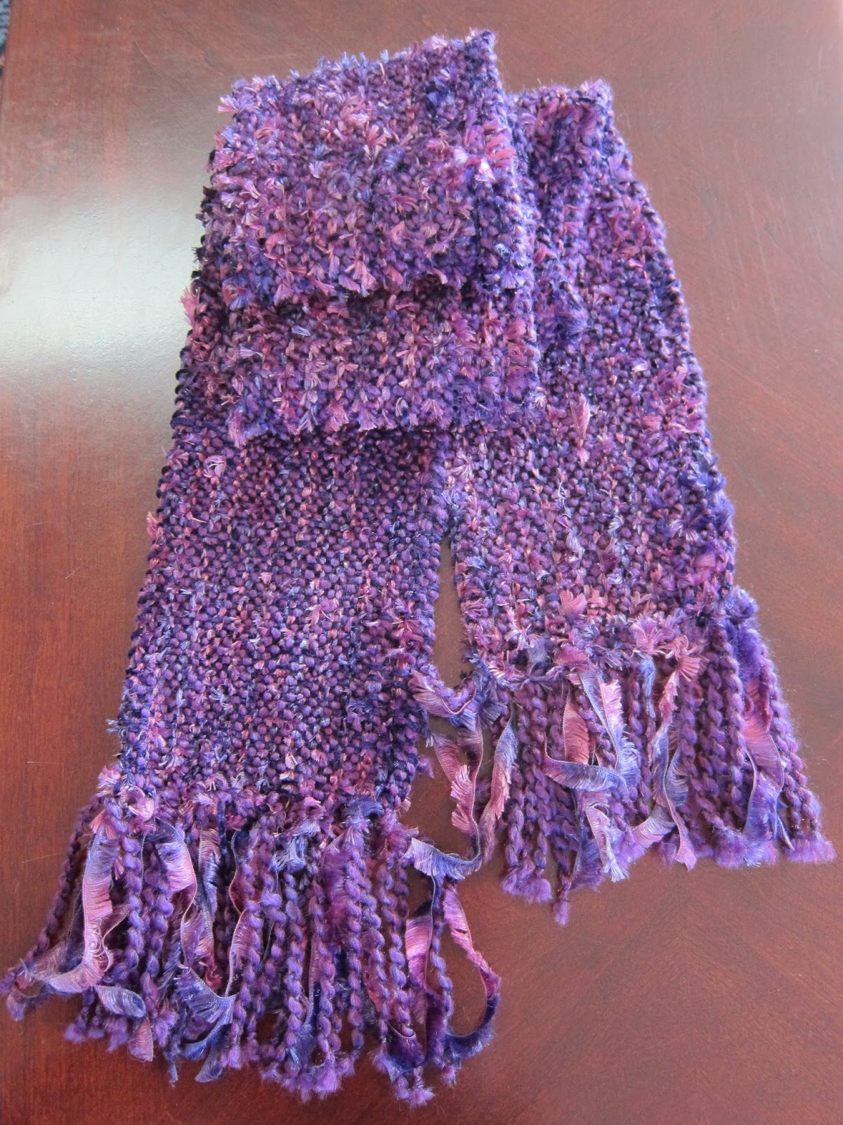 Thinking Out Loud: Scarf Weaving on the Rigid Heddle Loom